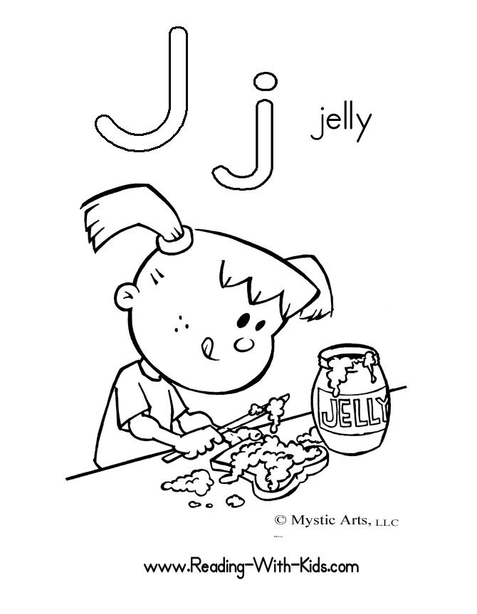 j coloring pages - photo #17